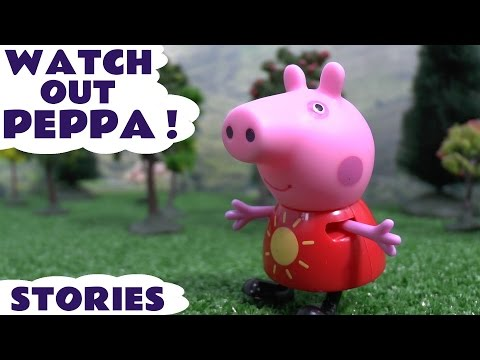 Peppa Pig Play Doh Princess Thomas and Friends English Episodes Stories Toys Pocoyo Watch Out Pepa