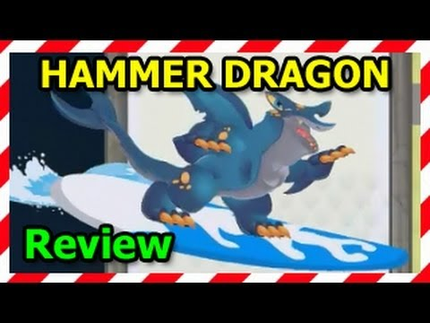 HAMMER DRAGON Dragon City Black Market Egg and Level Up Fast