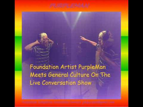 Purpleman Meets General Culture Live Conversation Show