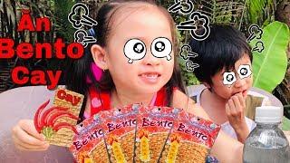 Stin Dâu Ăn Cay Được Không (^_^) Chơi Kèn Thổi Bong Bóng Xà Phòng Ăn Bento Mực Siêu Cay.