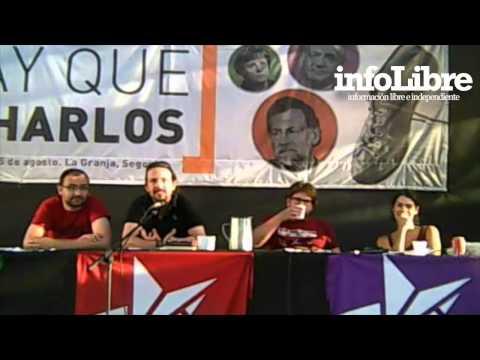 Intervención de Pablo Iglesias