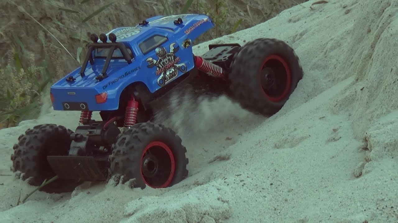 Rock crawler - heavy terrain test