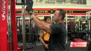 Instructional Fitness - Tricep Rope Push-downs