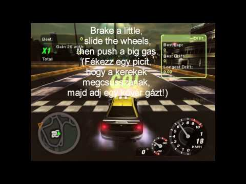 NFSU2 Drift tutorial
