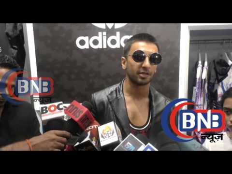 Ranveer Singh Visit At Adidas Showroom