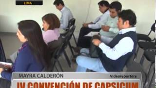 Iv Convencin Internacional De Capsicum