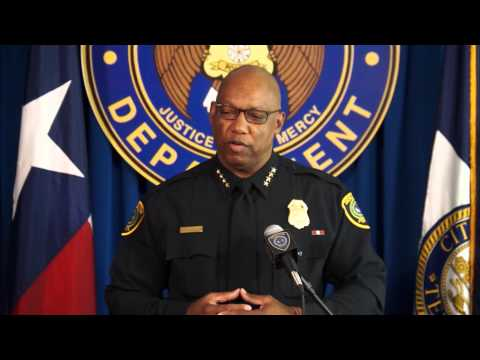Houston Chief of Police on Record Low Number of Complaints