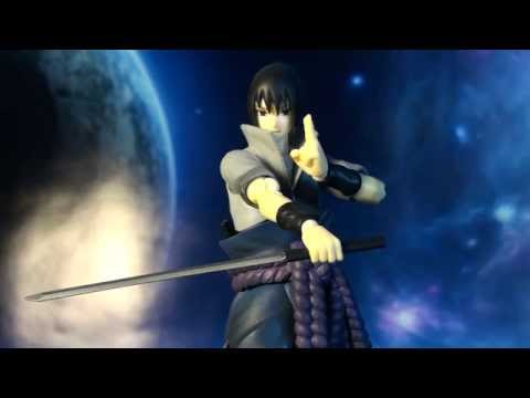 R369 Bandai S.H. Figuarts Naruto Shippuden Uchiha Sasuke Review