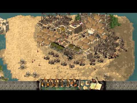 Stronghold Crusader Multiplayer - 2vs3 MostWanted Sergiu VS.