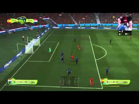 WK 2014   Spanje   Nederland in FIFA 14 nederland spanje