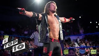 AJ Styles' greatest moments: WWE Top 10, Jan. 6, 2018