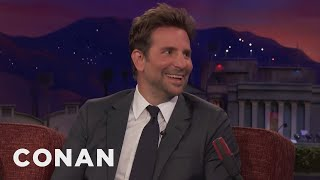 "Bradley Cooper Recently Watched ""The Hangover 3"" On Cable  - CONAN on TBS"