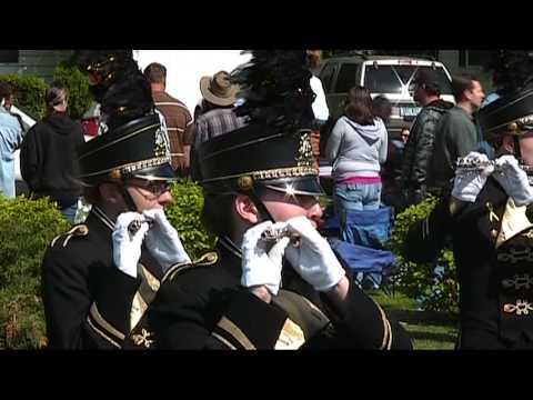 BCHS Bullock Creek High School Memorial Day Parade 2009 Senior Center Performance