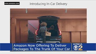 Get Into My Car... Amazon Begins Delivery To Vehicles
