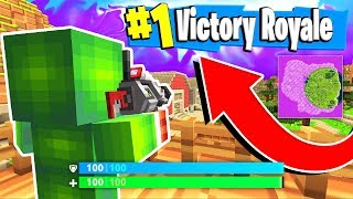 SECRET FORTNITE BATTLE ROYALE IN MINECRAFT!