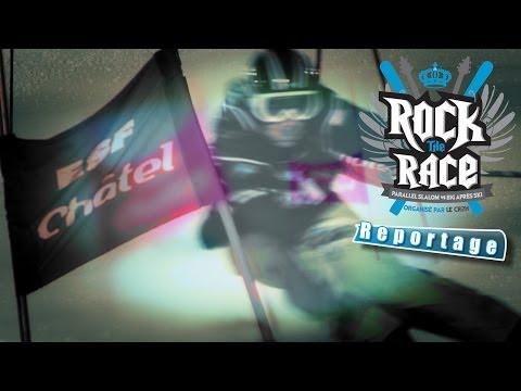 Rock the race 2014: la compétition à Châtel