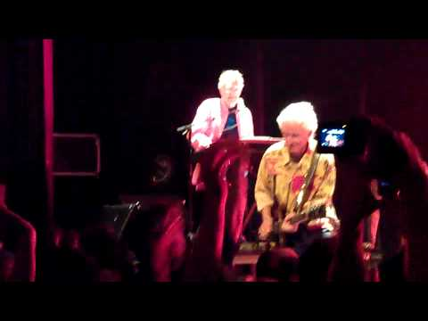Ray Manzarek ,and Robby Krieger of The Doors live in Paris (2-7-12) ) Road house blues