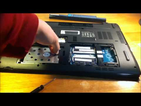 Upgrading The Video Card Acer Aspire 7741 Laptop - Replacing The