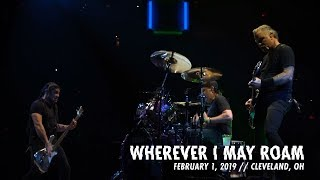 Metallica Wherever I May Roam Cleveland Oh February 1 2019