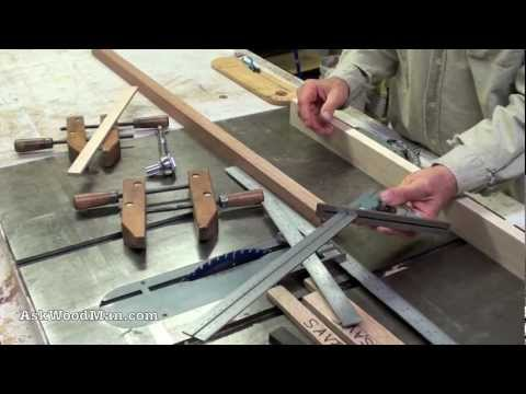 Table Saw Tip #2: Crosscut Cut-Offs   How To Set Miter Gauge Square