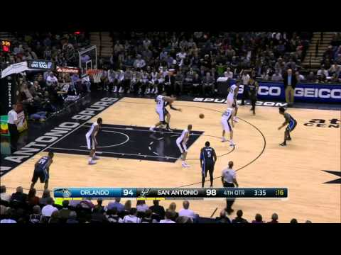 Orlando Magic vs San Antonio Spurs | February 4, 2015 | NBA 2014-15 Season