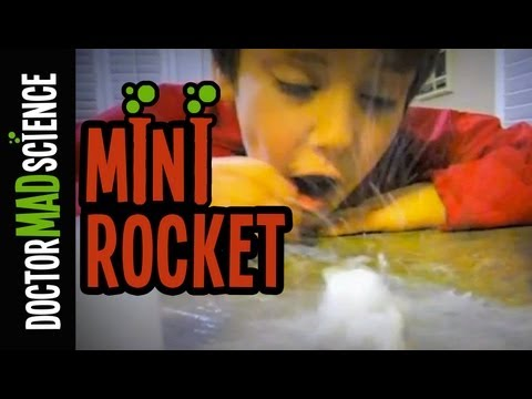 Make mini EXPLODING rockets at home