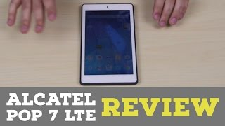 Alcatel Onetouch Pop 7 LTE Review
