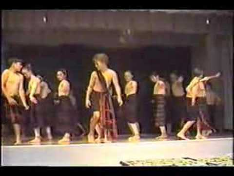 Dulce Capadocia teaches Igorot tribal dance to youth