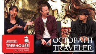 Octopath Traveler Gameplay Pt. 2 - Nintendo Treehouse: Live | E3 2018
