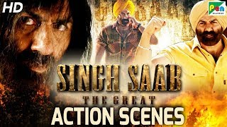 Singh Saab The Great - Back To Back Action Scenes | Full Hindi Movie | Sunny Deol, Urvashi Rautela
