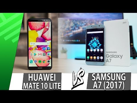 Huawei Mate 10 Lite VS Samsung A7 2017 | Enfrentamiento | Review | Unboxing