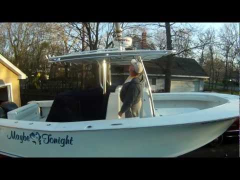 GoPro Hero HD Outrigger Test on my Southport 29CC Boat