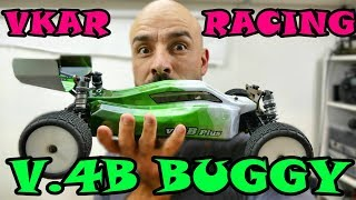 VKAR RACING V.4B Brushless Buggy - Part 1 Unboxing & In-Depth Look
