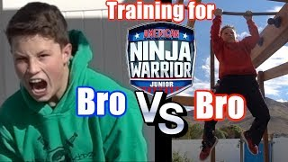 Bro vs Bro Ninja competition!