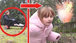 PRANK STORY • KALYS EXPLOSE EN HOVERBOARD !! - Studio Bubble Tea Blowing Up My Kid Prank