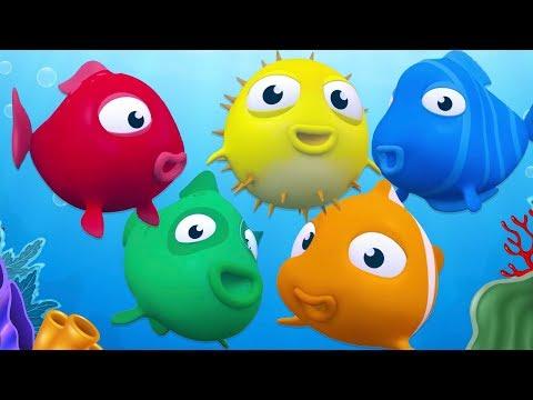 Kırmızı Balık ile Renkleri Öğreniyoruz - Çocuklar İçin Renkler