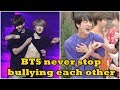 BTS (방탄소년단) never stop bullying each other #2