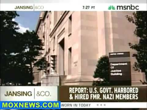 Operation Paperclip - Fascist America Naturally Loves Its Nazi-brothers