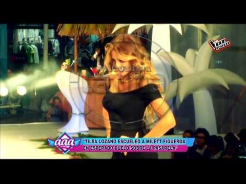 Tilsa Lozano Malogró La Fiesta De Milett Figueroa Con Un 'topless'