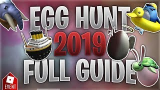 How to Get all the Eggs in the Egg Hunt [Part 1] (Roblox Egg Hunt 2019 Guide)