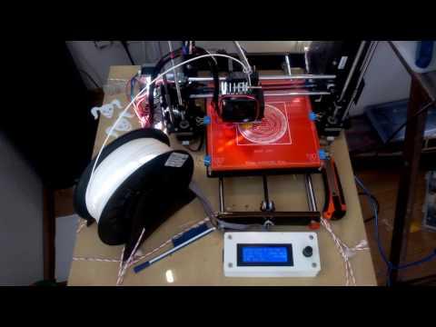 3D-Druck - Timelapse Zeitraffer Druck mit einem Basic-Programm 2. Figur