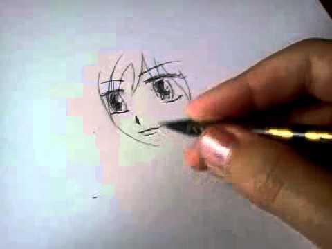 Видео как научиться рисовать аниме поэтапно