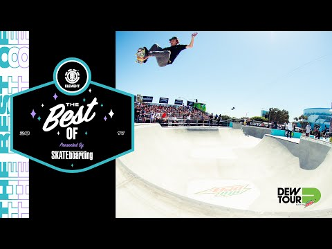 Best of Element TransWorld SKATEboarding Team Challenge Dew Tour 2017