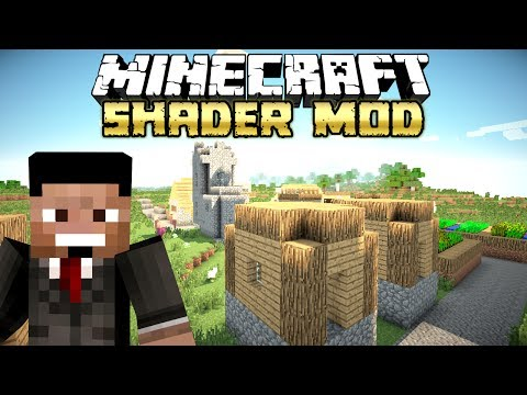 1.7.5 Minecraft Shader Mod - Tutorial - [German / Deutsch]