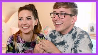 The Disney Challenge (ft. Zoella) | Tyler Oakley