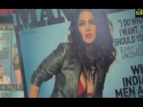 Sunny Leone Unveiled Cover Page Of Mandate Magazine video
