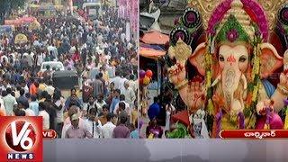 Students Participated In Ganesh Shobha Yatra 2018 | Hyderabad