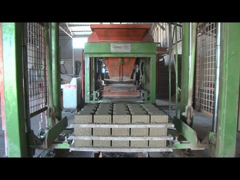 Paving Stone Factory - Stock Video
