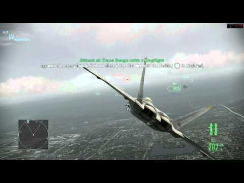 Ace Combat gameplay com final trágico