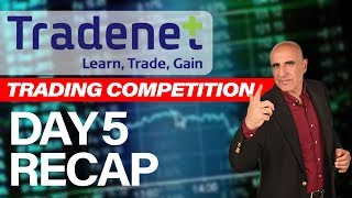 [RECAP] Tradenet $240,000 Competition - DAY 5